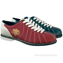 Ladies TCR1L Cobra Rental Bowling Shoes- LacesRed/Blue 7 1/2